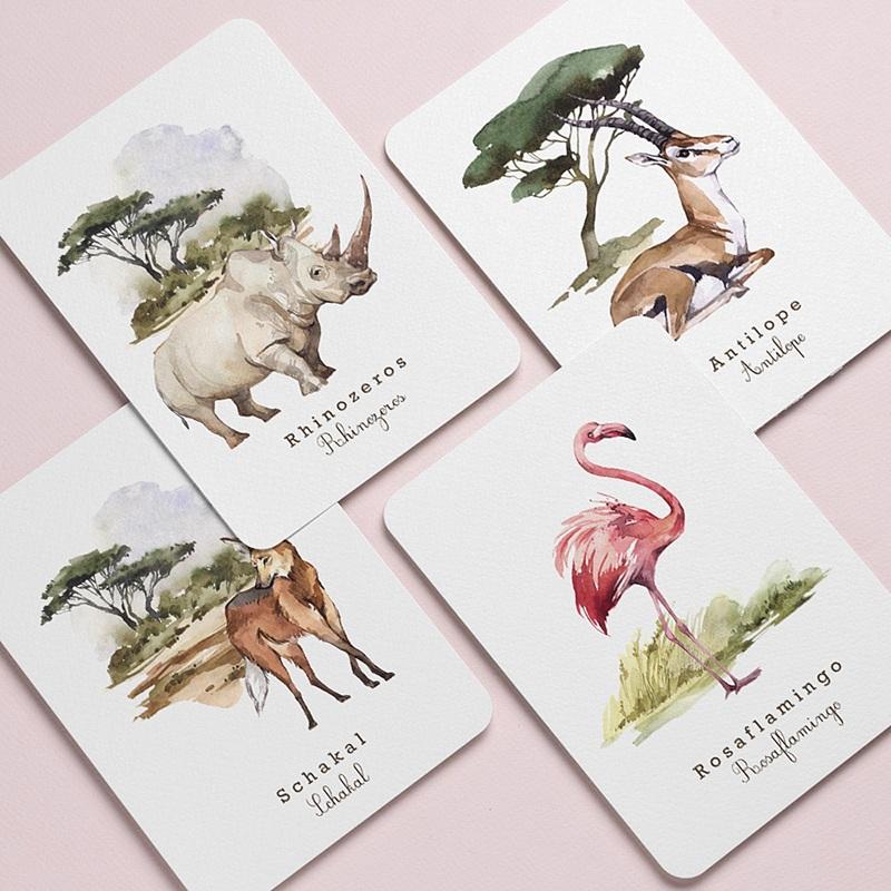 Schreibwaren Tierwelt in Afrika