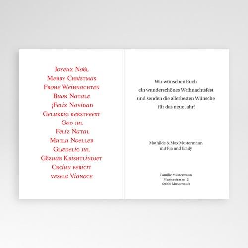 Weihnachtskarten - Xmas 9375 preview