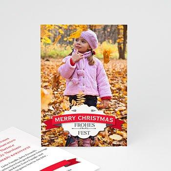 Weihnachtskarten - Weihnachtskarte Xmas - 1