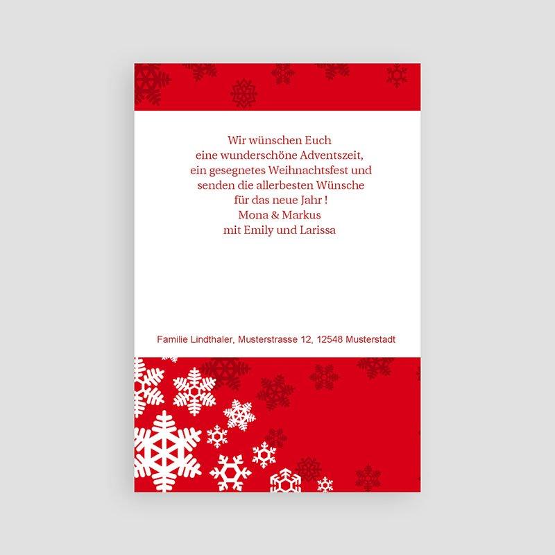 Weihnachtskarten Heiliger Abend pas cher