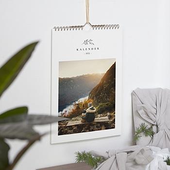 Natürlicher Wandkalender - ein Foto pro Monat - 0