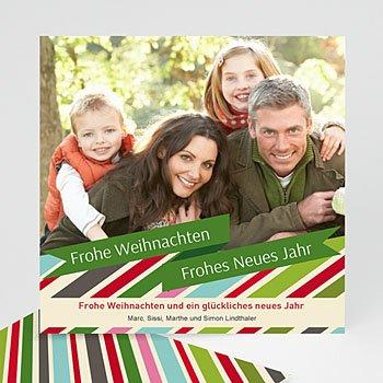 Weihnachtskarten - Weihnachtskarte Pastell - 1