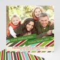 Weihnachtskarte Pastell - 1