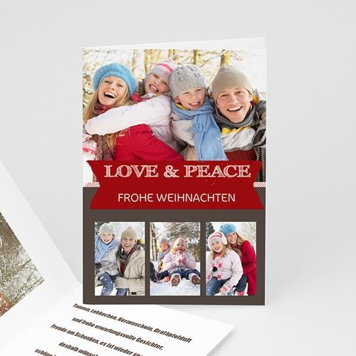 Weihnachtskarten - Patchwork 9416