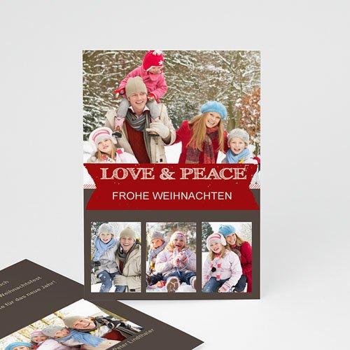 Weihnachtskarten - Festessen 9420