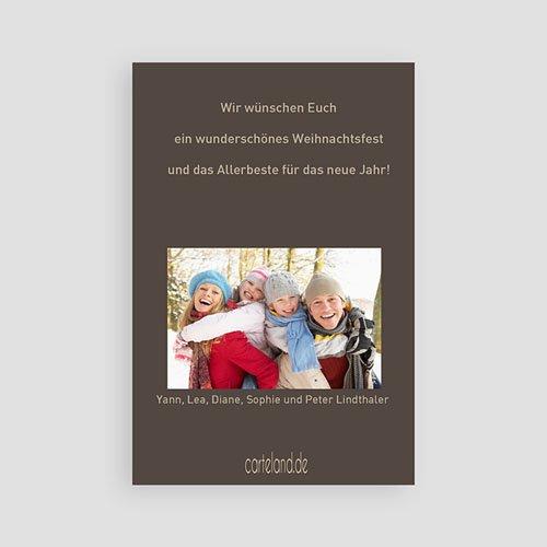 Weihnachtskarten - Festessen 9421 test
