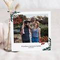 Weihnachtskarten Beeren und grüne Zweige