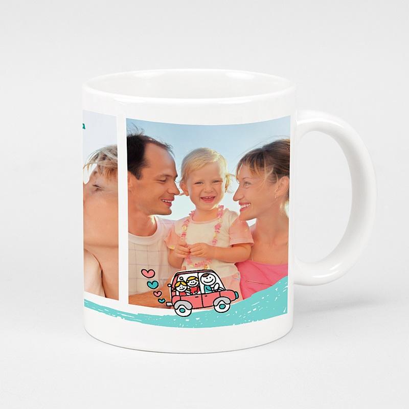 Personalisierte Fototassen Vatertag