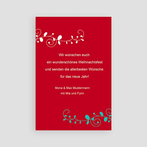 Weihnachtskarten - Vöglein 9452 test