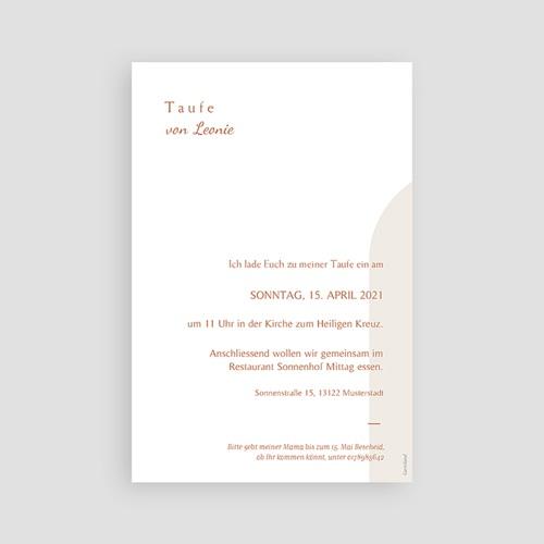 Einladungskarten Taufe  Segnung, Hostie mit Goldzweig pas cher