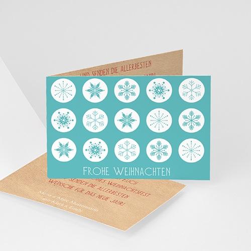 Weihnachtskarten - Kristalle 9463