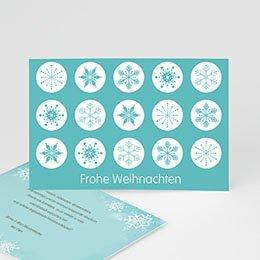 Neujahr Weihnachten Schneekristalle