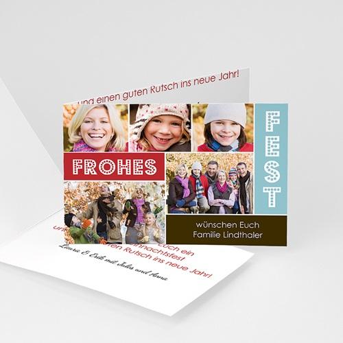 Weihnachtskarten - Weihnachtscollage 9471