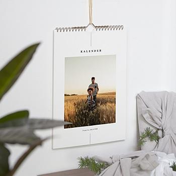 Natürlicher Wandkalender - Wandkalender, één foto per maand - 0