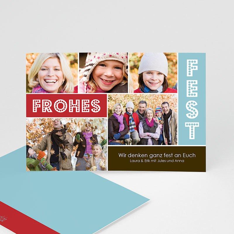 Weihnachtskarten Frohlocken