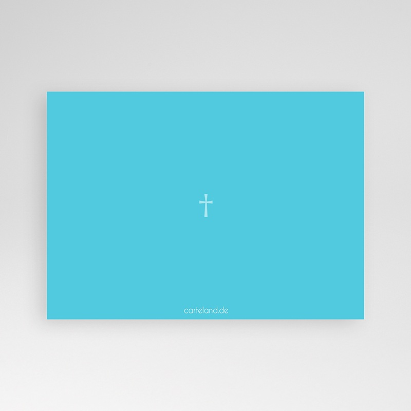 Einladungskarten Taufe für Jungen Isaak pas cher