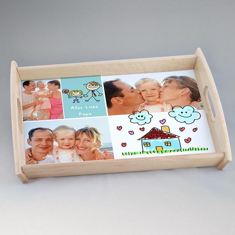 Personalisierte Foto-Tablett  Papatag