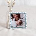 Dankeskarten Geburt Der Kleine Prinz Der kleine Prinz fliegt weg, blau, 10 x 10 cm