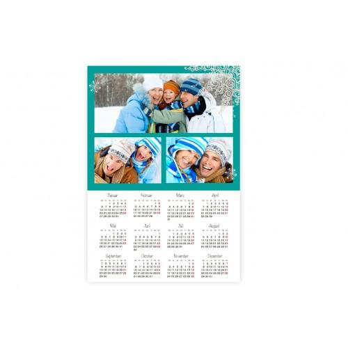 Jahresplaner - Kalender 2013 blau 9538 test