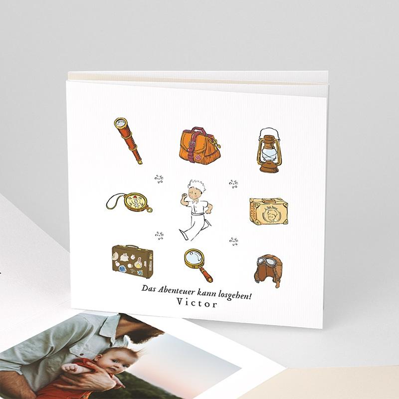 Geburtskarten Der Kleine Prinz Der kleine Prinz Forscher, Akkordeon Leporello Karte