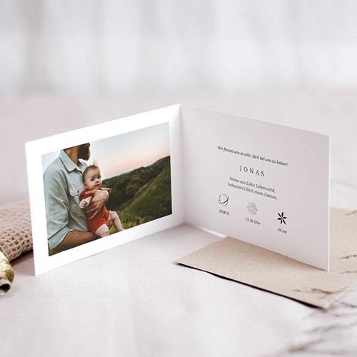 Geburtskarten Der Kleine Prinz Die Entdeckung eines kleinen Prinzen, Klappkarte pas cher