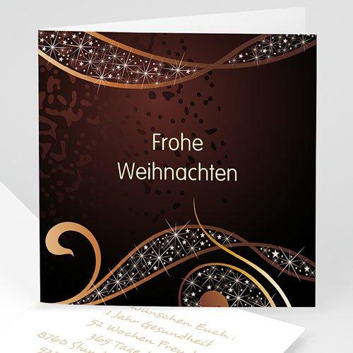 weihnachtskarten goldene w nsche. Black Bedroom Furniture Sets. Home Design Ideas