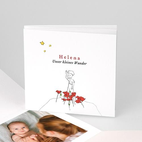 Geburtskarten Der Kleine Prinz Die Blumen des kleinen Prinzen, Fotos, Leporello Karte