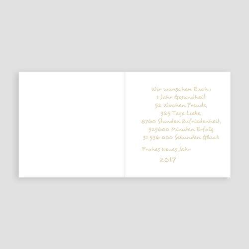 Weihnachtskarten - Goldene Wünsche 9555 test
