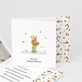 Dankeskarten Geburt Der Kleine Prinz Der Fuchs des kleinen Prinzen, überstehende Klappkarte