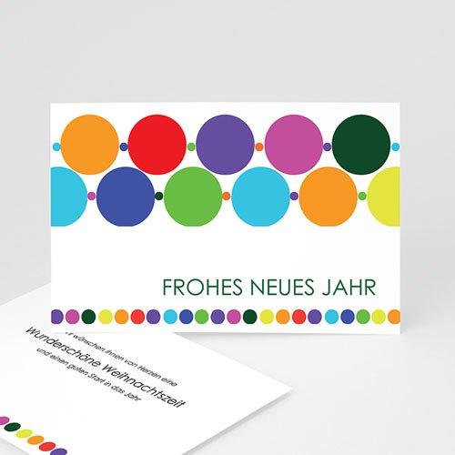 Weihnachtskarten - Moderne Weihnachtskarte 9568