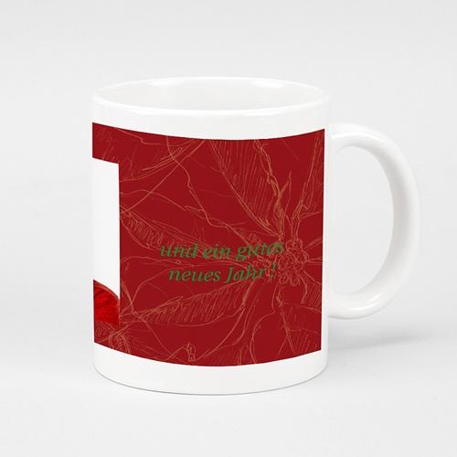 Fototassen - Weihnachtliches Rot 9583