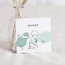 Dankeskarten Geburt Der Kleine Prinz - Entdeckungen eines kleinen Prinzen, 10 x 10 cm - 0