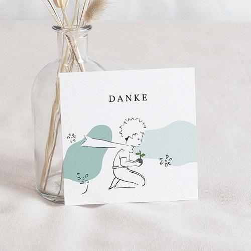 Dankeskarten Geburt Der Kleine Prinz Entdeckungen eines kleinen Prinzen, 10 x 10 cm