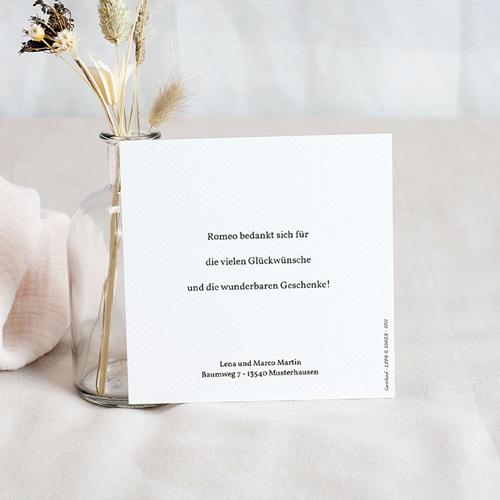 Dankeskarten Geburt Der Kleine Prinz Entdeckungen eines kleinen Prinzen, 10 x 10 cm pas cher