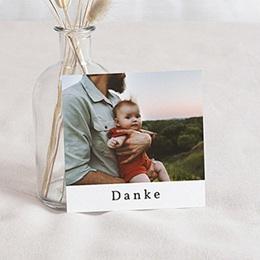 Dankeskarten Geburt - Fuchs und Kleiner Prinz, Foto, 10 x 10 cm - 0