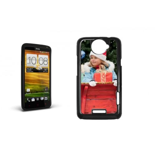iPhone Cover NEU - HTC ONE X Case schwarz 9617