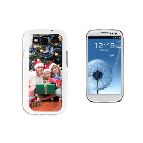 iPhone Cover NEU - Samsung Galaxy S3 Case weiss 9619