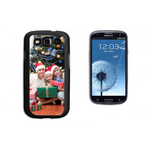 iPhone Cover NEU - Samsung Galaxy S3 Case schwarz 9621