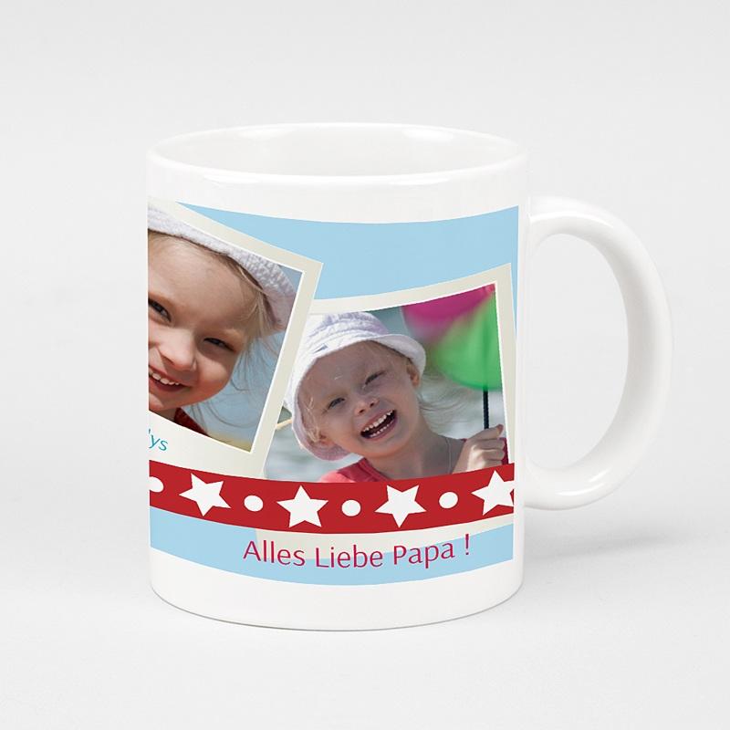 Personalisierte Fototassen Weihnachtskarte
