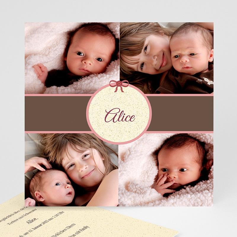Geburtskarten für Mädchen Alice