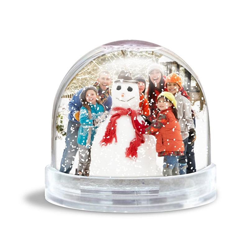 Personalisierte Foto-Schneekugel Schneekugel 100% gestaltbar