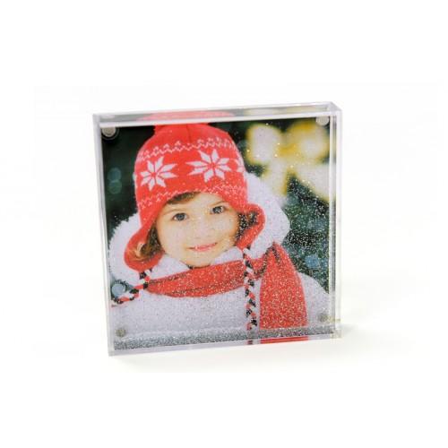 Personalisierte Foto-Schneekugel Foto