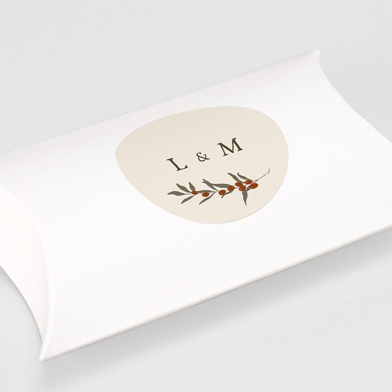 Aufkleber Hochzeit Olivenzweig, Boho, 4.5 cm gratuit