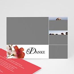 Danksagungskarten Hochzeit  - Aquarelle - 1