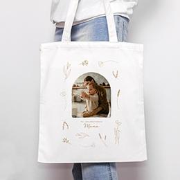 Personalisierte Tote Bag - Kleines Herbarium für Mama - 0