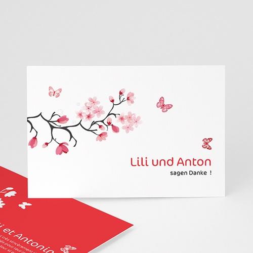 Danksagungskarten Hochzeit  Nippon