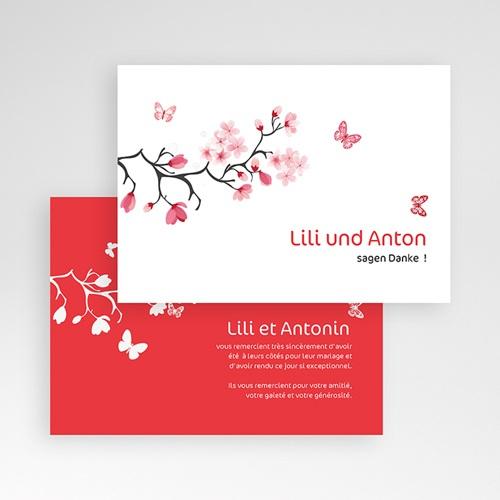Danksagungskarten Hochzeit  Nippon pas cher