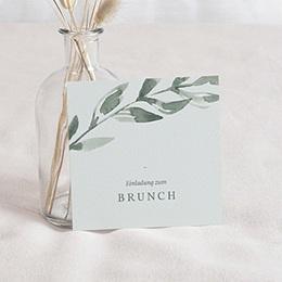 Einladungskarten - Pflanzen Rahmen, Brunch - 0