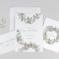 Hochzeitseinladungen Silbertaler Krone