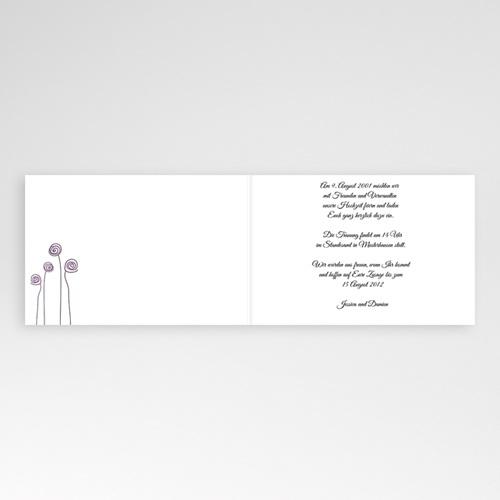 Hochzeitseinladungen modern - Lilie 993 preview